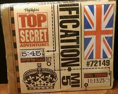 Highlights Top Secret Adventures Case #72419 Trouble on The Thames GREAT BRITAIN