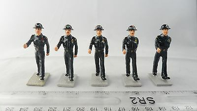 Solid Cast - 2Nd World War Painted Civil Defence Soldiers & Sergeant - See Below