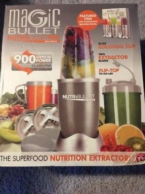 15pc Set Nutribullet Magic Bullet Pro 900w Blender Extractor Juicer Champagne 1