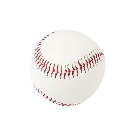 White Cork Rubber Foam Baseball Game Hand Sewn Outdoor Sports Training Gaming