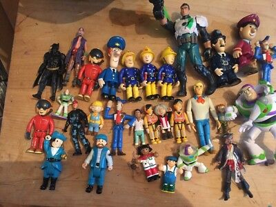 Large Bundle Of Toy Figures