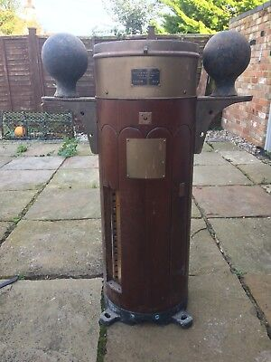 Ships Binacle. Base Only. Good Condition. Wood . Great Feature