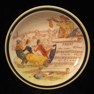 "Vintage Vernon Kilns Opera 8-5/8"" Plate - Faust by Gounod"