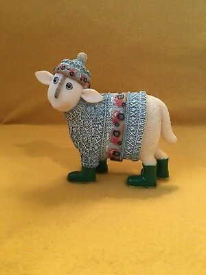 "Ewe and Me Sheep ""Joseph "" Toni Goffe Collectable Border Fine Arts"