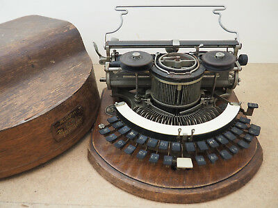 Antique Typewriter HAMMOND Ideal machine a écrire Schreibmaschine 打字机 آلة كات