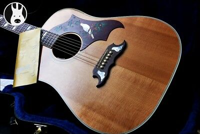 ✯PRISTINE✯ GIBSON USA Dove Electro Acoustic AA+✯ Natural + Rosewood ✯2007✯