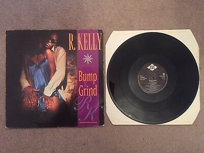 "R KELLY - Bump N' Grind - 1994 UK 4-track 12"" Vinyl Single"