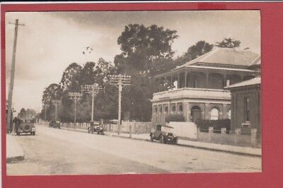 Old Postcard Australia NSW Richmond Post and Telegraph Office