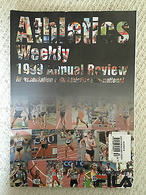 Athletics Weekly Magazine - 1999 Annual Review