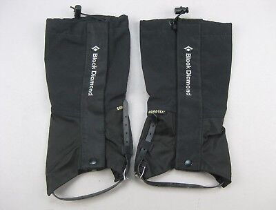 Black Diamond Frontpoint GTX Goretex Gaiters Gaiter Hiking •  SMALL • EXCELLENT
