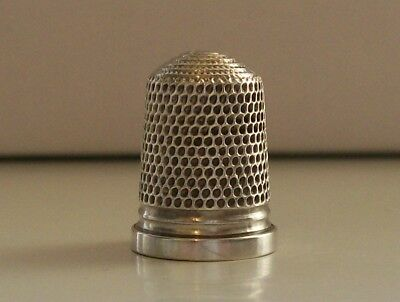 Stunning Vintage Silver Thimble with No Markings