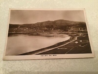 R/P Postcard - The Bay, Uig, Skye.