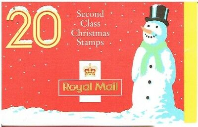 Great Britain 1990 - Christmas Stamp Booklet (Snowman)