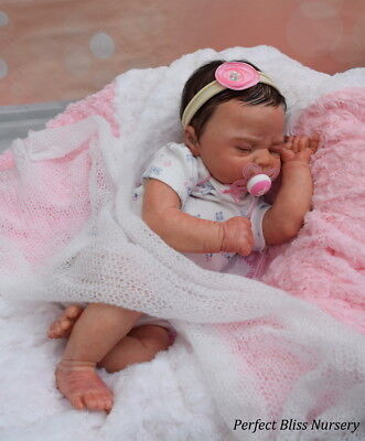 *pbn* Yvonne Etheridge Reborn Baby Doll Girl Sculpt Ivy  By Elisa Marx 0217