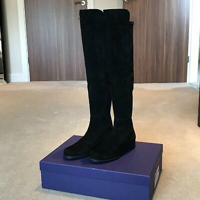 Russell and Bromley over knee boots
