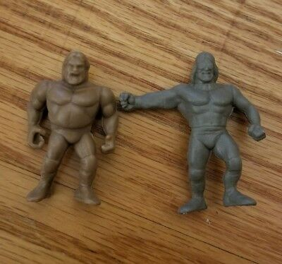WWF Macho Man and Jim Duggan Figures Hasbro/Prototype