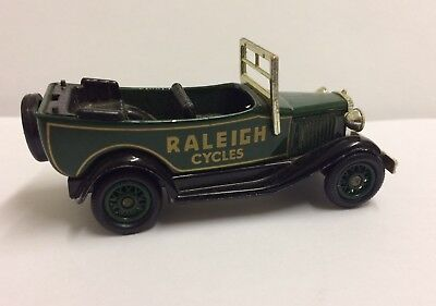 """Lledo Days Gone 1934 Model A Ford Car """" Raleigh Cycles""""  14008"""