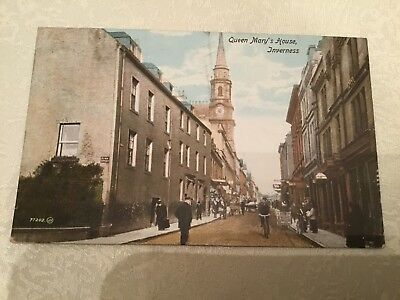 Postcard - Queen Mary's House,Inverness.