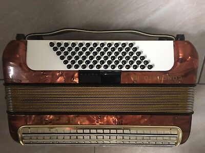 Hohner Concerto Iii 72 Bass  Accordion Finest German Quality Good Conditions