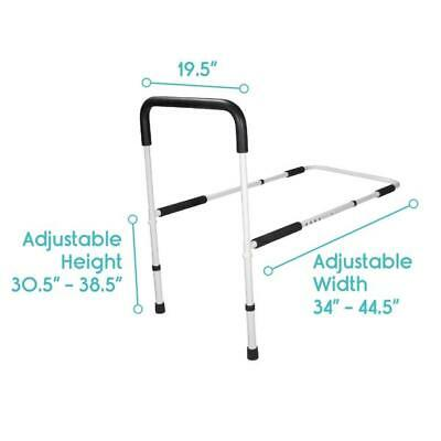 Bed Rail by Vive - Assist Bar for Adults Seniors Elderly & Handicap Adjustable