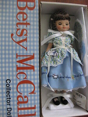 """8"""" Tiny Betsy McCall Introducing Brown Hair with Little Bo Peep outfits"""