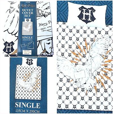 Harry Potter Bettwäsche Eule Hedwig Primark Home Neu Ovp 135 X