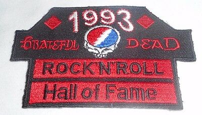 Grateful Dead 1993 Rock N Roll Hall Of Fame Patch