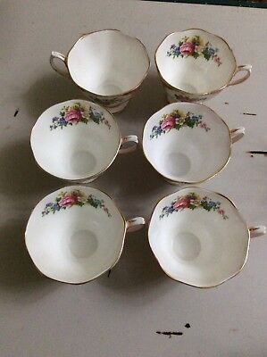 Royal Albert Lady Carlyle 6x Gilded Cup