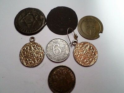 Set of 7 Tokens from WORLD-RECOMMEND-(bargain)