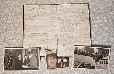 INTERESTING private 1960's diary & more.Famous celebrity diary? Barn/loft find