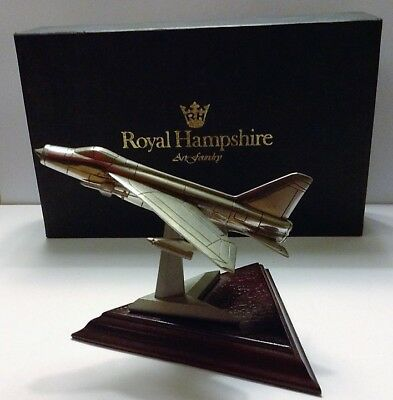 Royal Derbyshire Pewter Aircraft Series - The Bac Lightning
