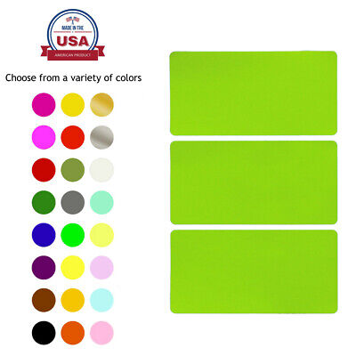 Rectangular Name Tags Colored Coding Labels Moving 4x2 Inch Stickers 45 Pack