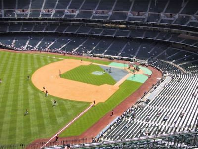 1 Houston Astros 2017 World Series Home Game 2 Ticket Minute Maid Sec 406 Row 23