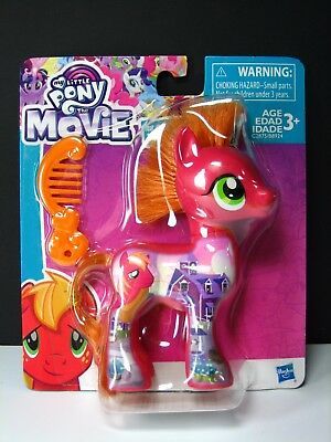 My Little Pony THE MOVIE All About BIG MAC Brushable NEW! figure doll McIntosh