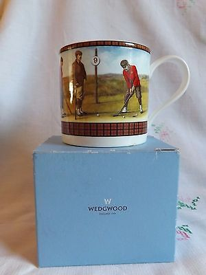 Wedgwood Golfers Mug With Original Box