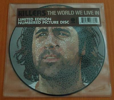"The Killers - The World We Live In - 2009 UK 1 Track Numbered 7"" Picture Disc"