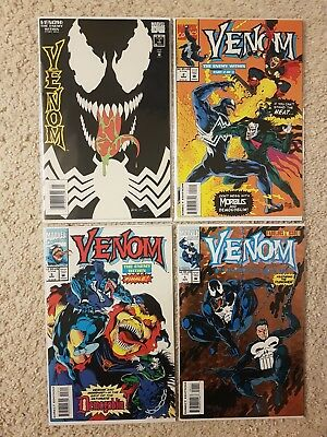 Marvel Venom Enemy within #1-3 & Funeral Pyre #1 NM