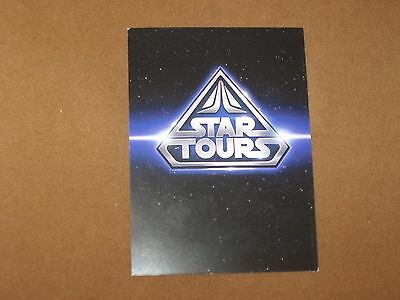 Disney Hollywood Studio Star Tours Height Requirement card Family Fast Pass