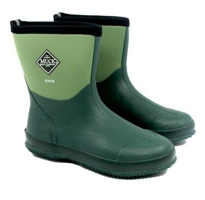 Muckboot Scrub Boot Garden Green Size 6 This Crazy Offer On Until Listing Ends