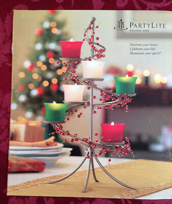 PartyLite 2006 Fall Holiday Halloween Christmas Catalog Retired Book Consultant