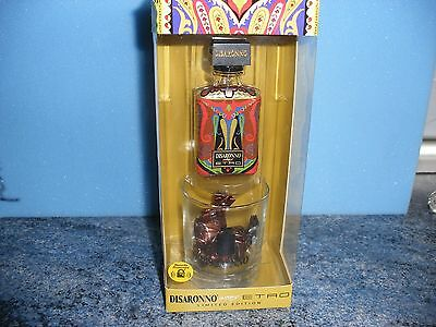Disaronno Wears Etro Limited Edition Empty, Glass & Sweets Boxed
