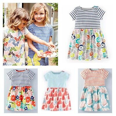 NEW STOCK JUST IN Girls Popular Hotchpotch Dresses in 6 Styles 1-12 Yrs