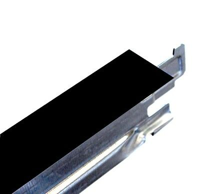 Black Cross Tee Section, 600mm x 24mm, Suspended Ceiling Grid System Component