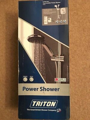 Triton Thermostatic Power Shower