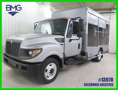 2012 International Harvester Terrastar Cab Chassis Diesel Food Catering Beverage Aluminum Box Work truck 2012 International TerraStar Cab Chassis Delivery Truck