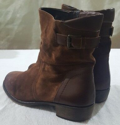 Next women's leather/suede boots size 8 (42)