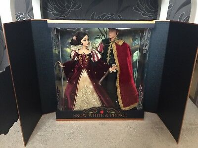 Disney Snow White and Prince Platinum Doll Set Limited Edition LE 650