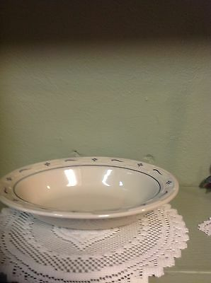 Longaberger Serving Bowl - Classic Blue- Made in USA- NIB