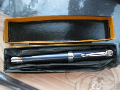 Harley Davidson Fountain pen blue box