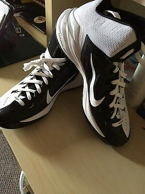 Nike Hyperdunk Black/Whit   Uk 7.5